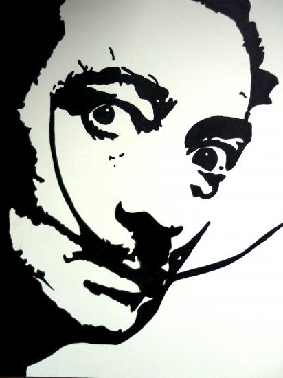 Salvador Dali por Anybody-Listening